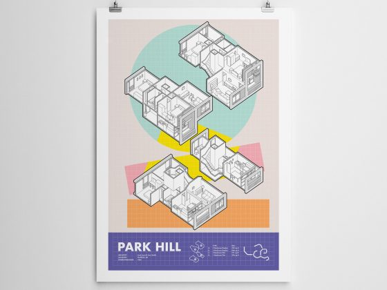 Park Hill, Sheffield | Print