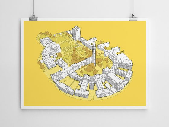 University of Birmingham | Art Print